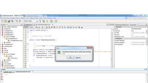 tutorial membuat uml dengan netbeans tutorial membuat program dengan fungsi if pada netbeans