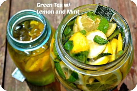 Green Tea And Lemon Detox Drink by 2 Detox Drink Recipes To Help You Lose Weight