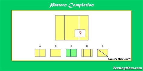 pattern completion exercises 193 best gifted and talented testing images on pinterest