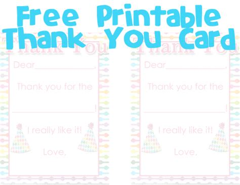 fill in the blank thank you card template free fill in the blank thank you card printable