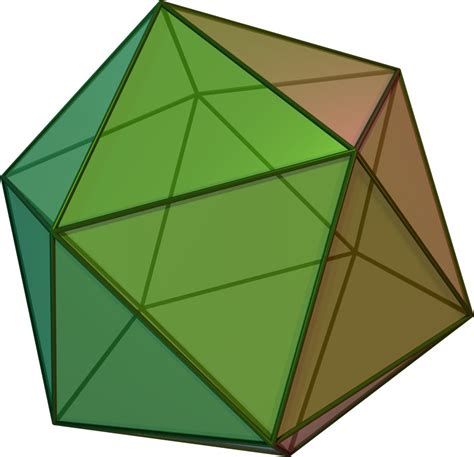 Origami Hedron - icosahedron d 233 finition what is