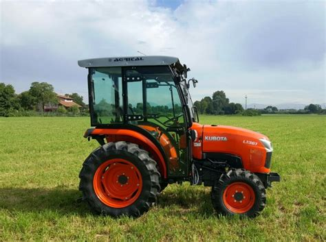 cabine trattori cabs for kubota compact garden tractors agrital
