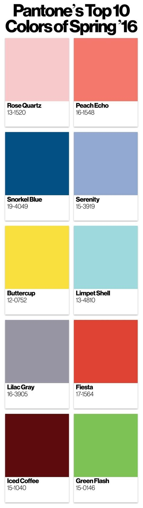 pantone color trends 2016 color trends spring pantone color of the year