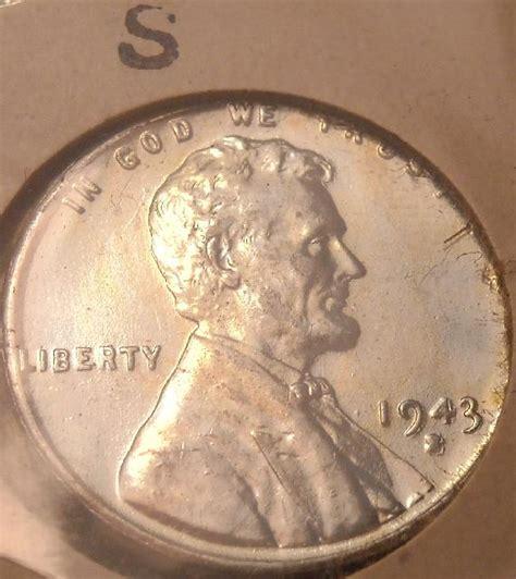 1943 s steel war time penny ms66 quot major error quot