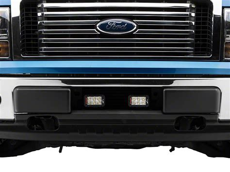 f150 led light bar vision x f 150 light bar mount w two 5 in led light bars