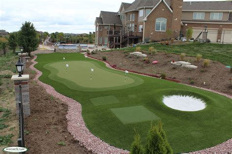 putting turf in backyard backyard putting green turf triyae com artificial grass