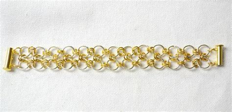 get paid to make jewelry at home easy steps to make chainmail bracelet with jump rings
