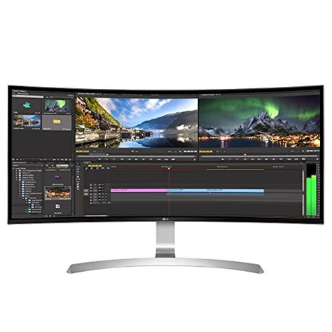 Lg Curved Monitor lg 34uc99 w 34 inch 21 9 curved ultrawide wqhd ips monitor with usb type c 2017 electronics news