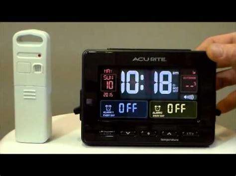 acurite 13022 atomic dual alarm