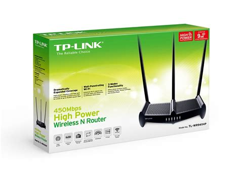 Tplink Tl Wr941hp 450mbps High Power Wireless N Router Diskon 2017 tp link wr941hp 450mbps high power wireless n router