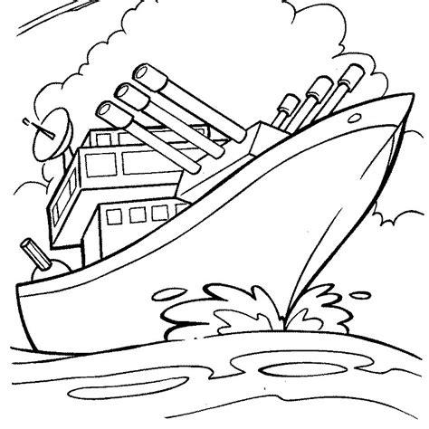 dessin bateau guerre coloriage bateau de guerre a imprimer gratuit