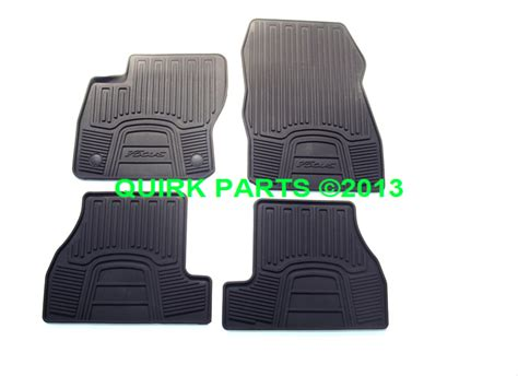 2012 2013 2014 2015 ford focus all weather rubber floor