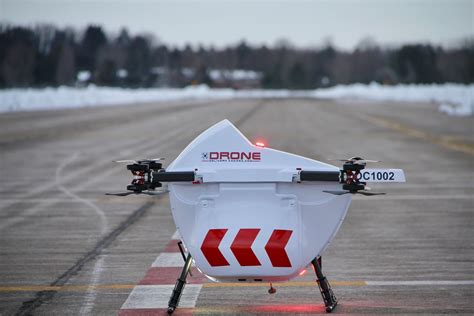 air canada signs agreement  drone delivery canada