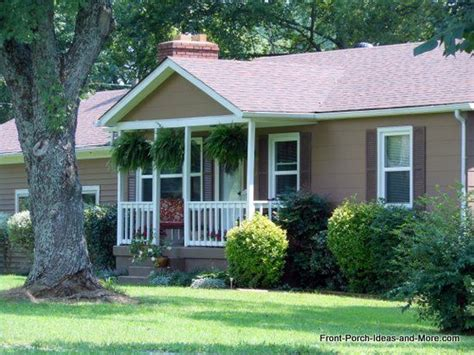 average cost to add a front porch on a ranch home cost of adding small front porch to ranch homeimprovement