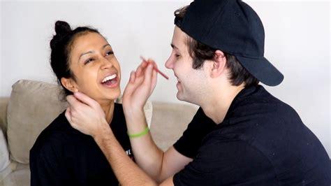 The Boyfriend boyfriend does my makeup