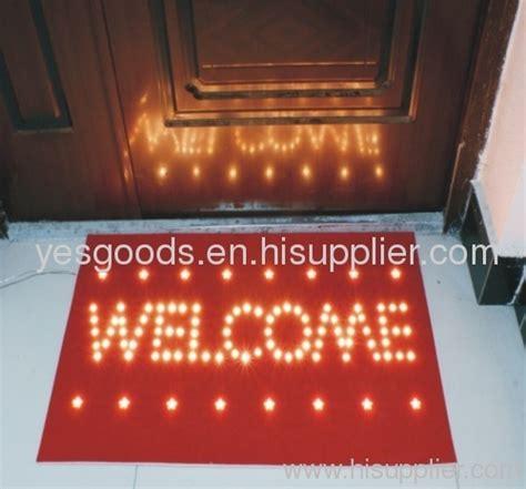 Led Doormat led light door mat nbbwl005 manufacturer from china ningbo bowang industrial co ltd