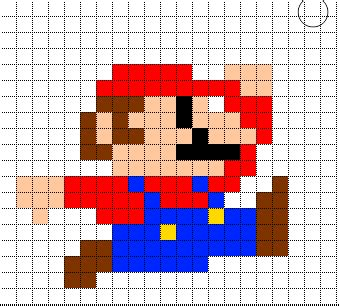 mario pixel template minecraft pixel templates august 2012