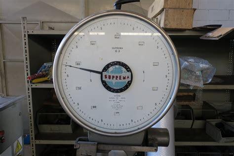 bilancia suprema bilancia a bascula meccanica suprema 300 kg usata