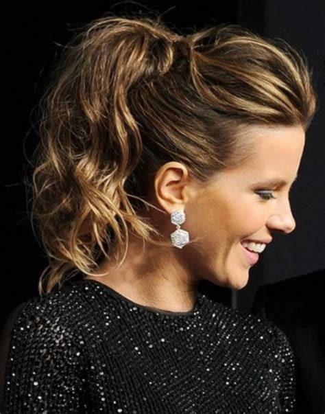curly ponytail hairstyles haircuts hairstyles 2017 and hair colors stunning wavy hairstyle ideas haircuts hairstyles 2017