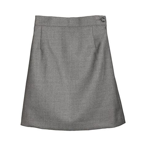 buy school wool mix pencil skirt grey lewis