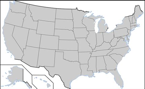 interactive blank map of the us blank maps of the united states