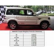 2014 Mahindra Scorpio Launched In Bangalore Price Specs