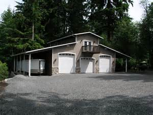 3 Bay Garage Plans 3 Car Shop Plans For Rv Bay Garage With Double Sided