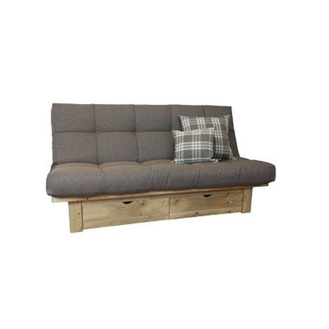 futon sofa beds uk belvedere futon sofa bed storage drawer shop