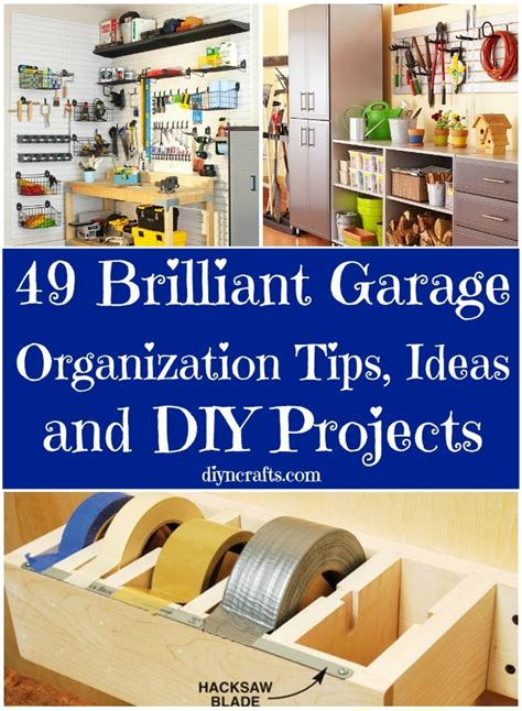 tips for garage organization 49 brilliant garage organization tips ideas and diy