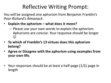 Aphoristic Essay Definition by How To Write An Aphorism