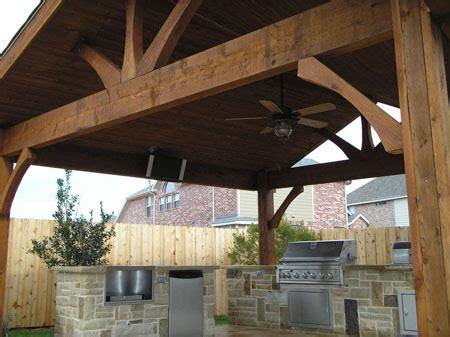 cedar covered patios  houston lone star patio builders