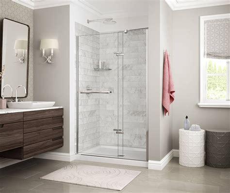 designer series utile marble alcove shower