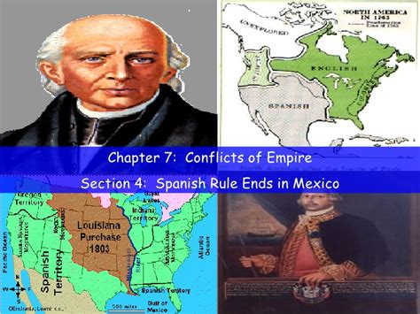 section in spanish tx history ch 7 4