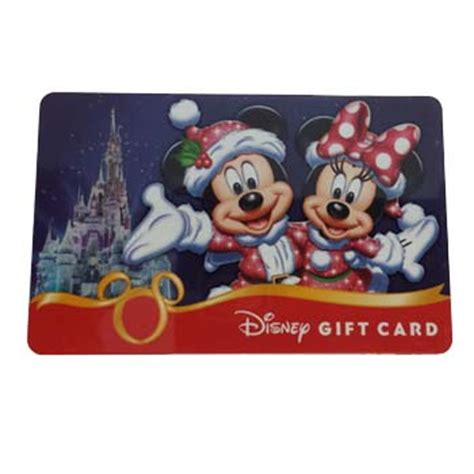 Disney On Ice Gift Card - your wdw store disney collectible gift card christmas mickey minnie ice castle