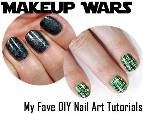 homemade nail art tutorial makeup wars my favorite diy nail art tutorials all