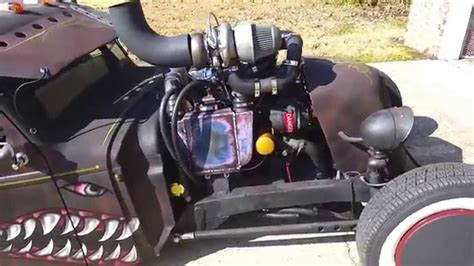 4bt cummins twin turbo diesel rat rod compound turbo 4bt youtube