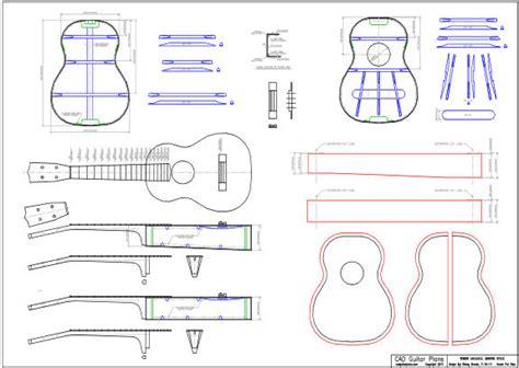 Home Blue Prints by Ukulele Cad Guitar Plans
