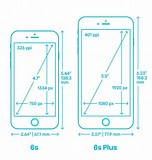 Image result for iPhone 6s Screen Dimensions Inches