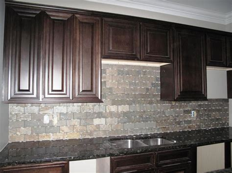 slate backsplashes for kitchens grey slate backsplash home design pros and cons of a