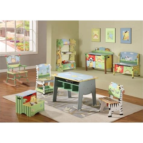 fields painted safari bookshelf w 8268a