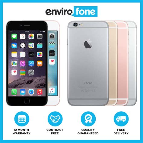 apple iphone 6s plus 16gb 32gb 64gb 128gb unlocked sim free smartphone ebay