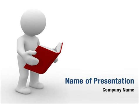 book reading powerpoint templates book reading