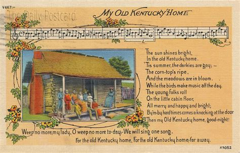 the daily postcard my kentucky home