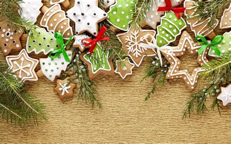 wallpaper christmas food christmas cookies background wallpaper 2880x1800 7610