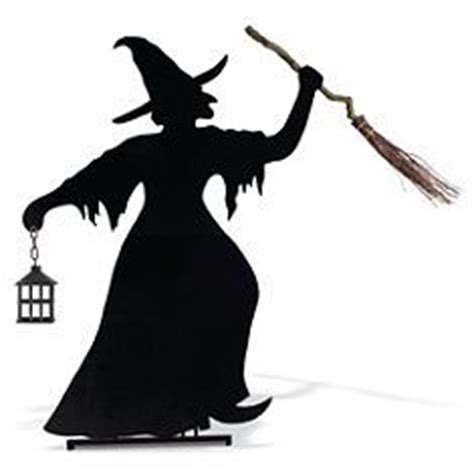 witch silhouette template silhouette yard on silhouette martha