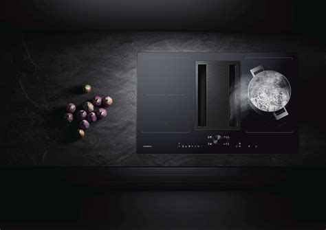 induction cooktop with downdraft ventilation flex induction cooktop with downdraft ventilation cvl