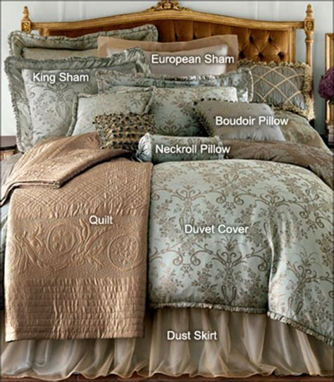 coverlet sham bedding guide at horchow