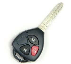 Toyota Remote 2009 Toyota Yaris Remote Keyless Entry Key Fob Transmitter