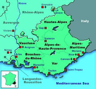 map of provence map of provence recana masana