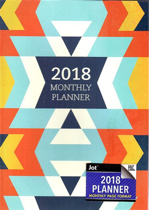 weekly planner 2018 weekly planner portable format trendy abstract watercolor florals premium cover with modern calligraphy lettering daily mindfulness antistress organization books 2018 personal monthly planner calendar organizer